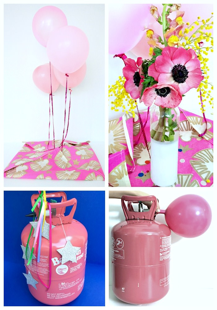 littleBIGBELL How to create a gift surprise with balloons  -