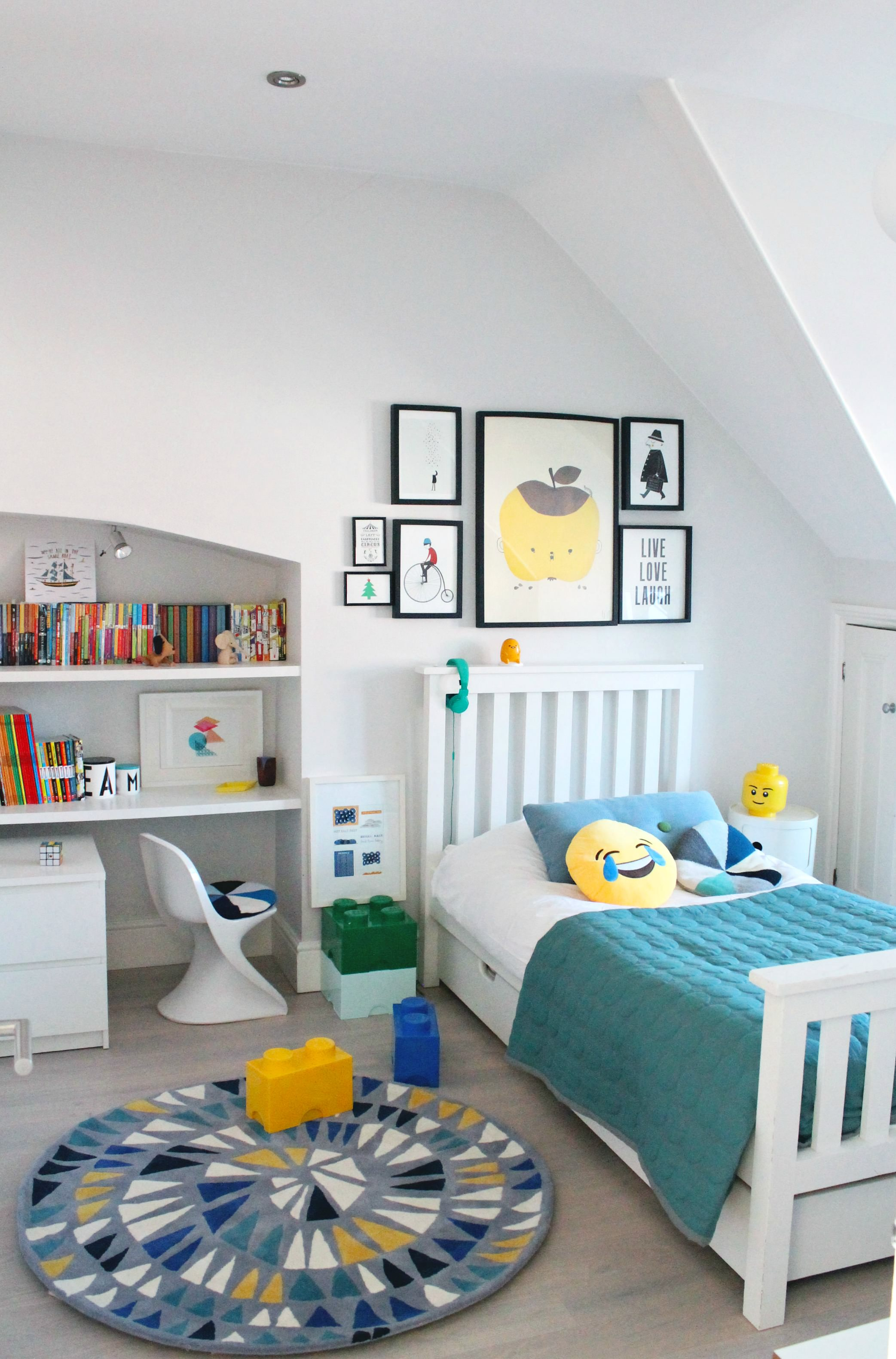 LittleBIGBELL Boys Bedroom Ideas Decorating With A Rug From Little P
