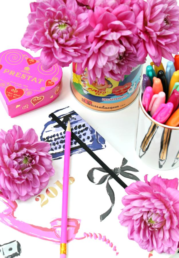 Pink-decor-for-a-work-desk-happy-photo-by-Little-Big-Bell-blog