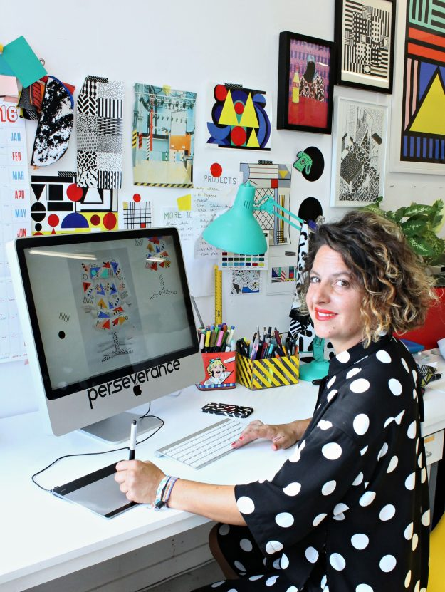 camille-walala-in-her-studio-photo-by-little-big-bell