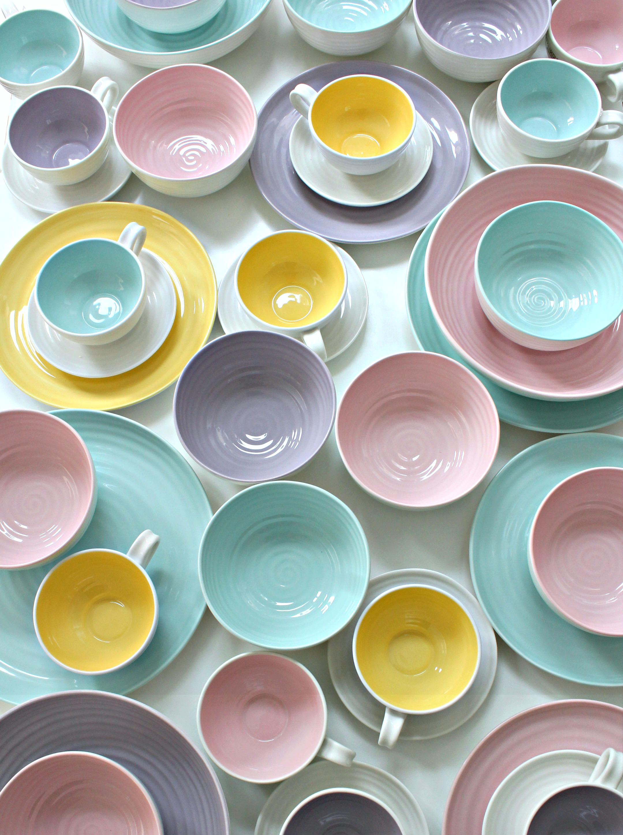 Sophie Conran for Portmeirion & littleBIGBELL Sophie Conran for Portmeirion Colourpop tableware range