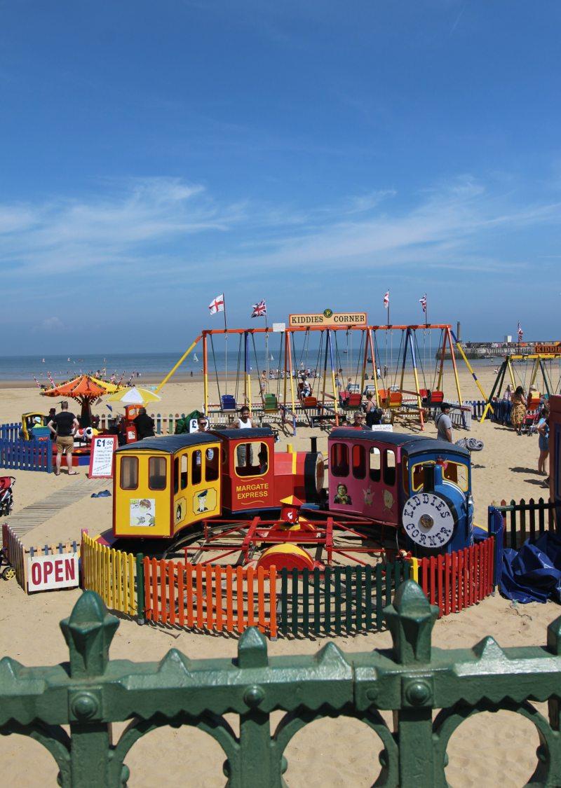 Margate beach for kids