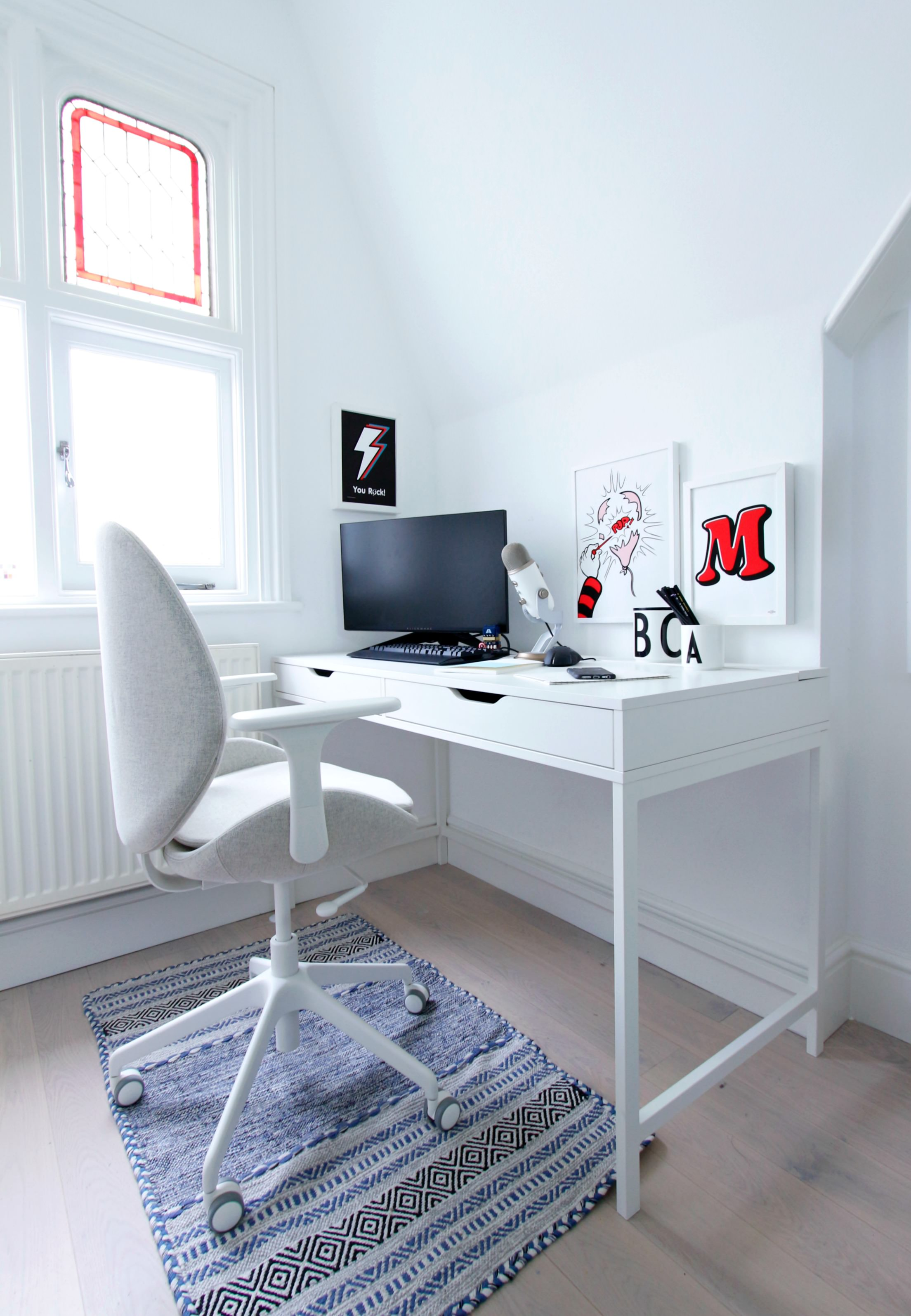 Back To School Workspace Revamp Desk And Chair With Ikea Uk