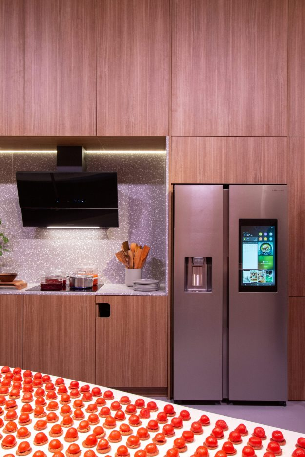 Samsung 24 hr kitchen Family Hub fridge