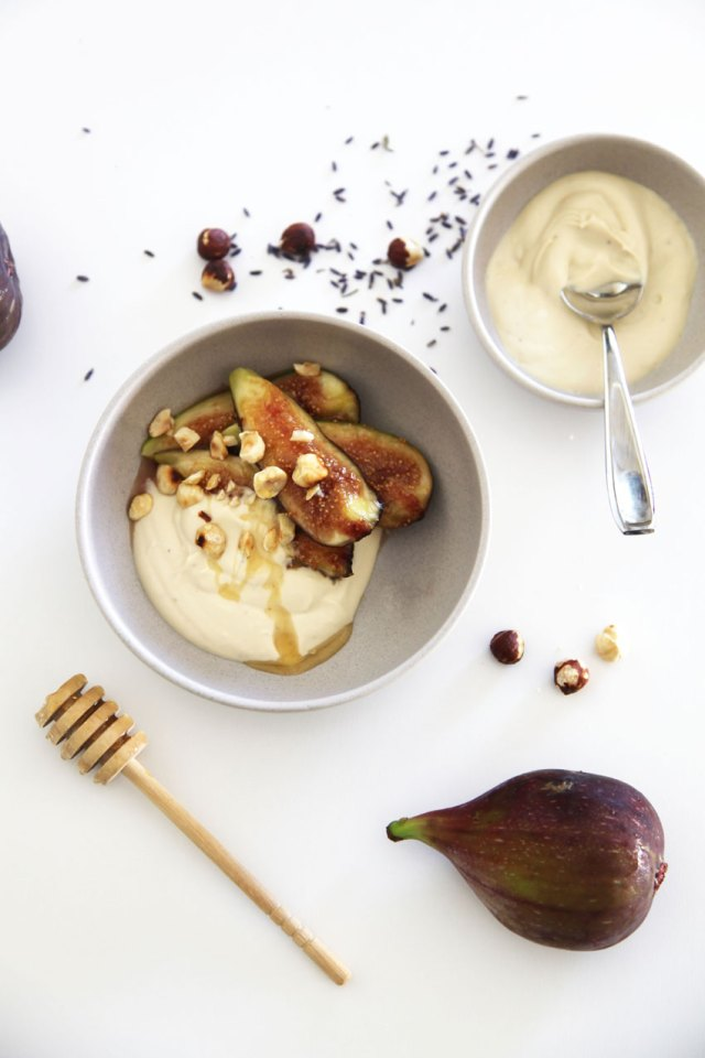 Figs-with-lavender-honey-creme-fraise