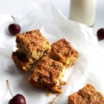 coconut and puffed amaranth muesli squares