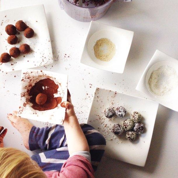 Halva truffles