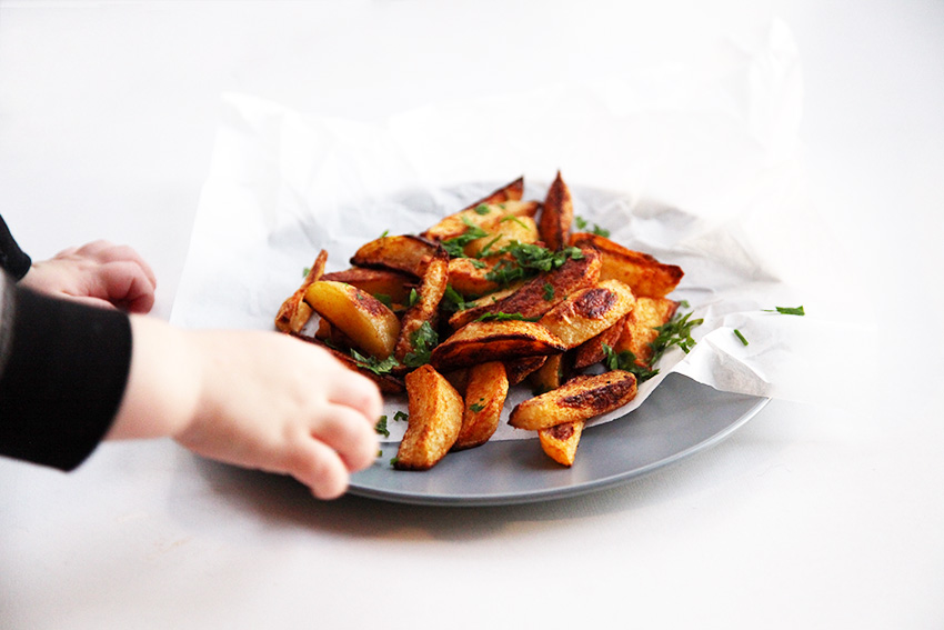 Sweet paprika fries