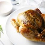 Roast Chicken with Sage