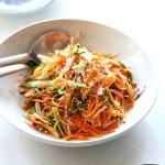 Quick pickled veggie salad