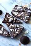 Homemade healthy, sugar-free, dairy-free, vegan chocolate - tastes just like a golden rough! So good!