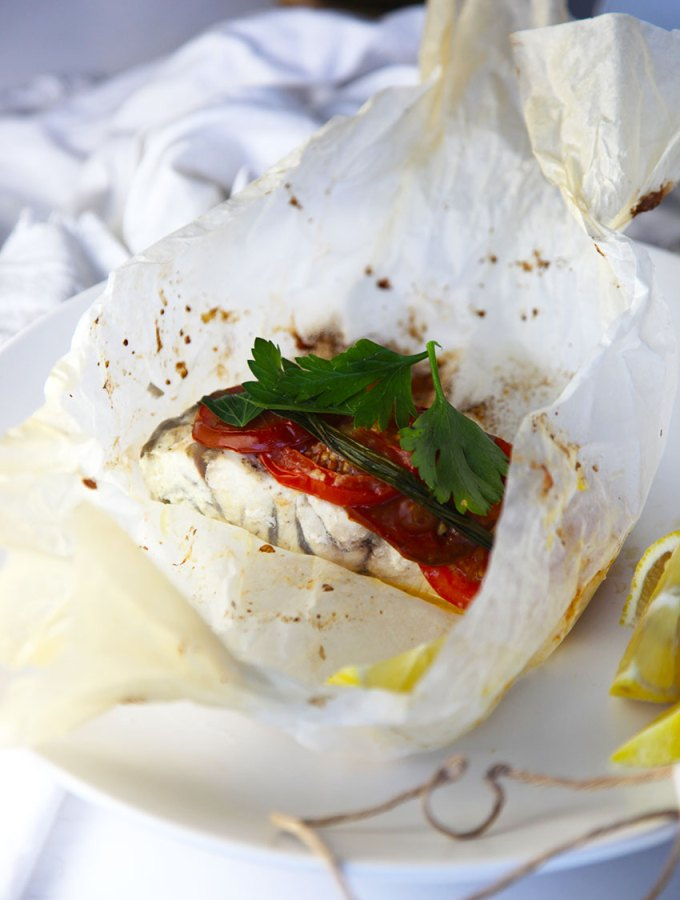 Baked Fish Parcels - a simple weeknight meal ready in 30 minutes