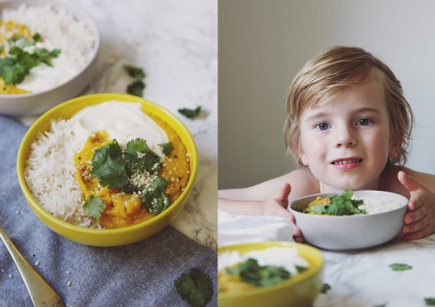 Yellow Split Pea Dhal - comforting, simple and so very tasty.