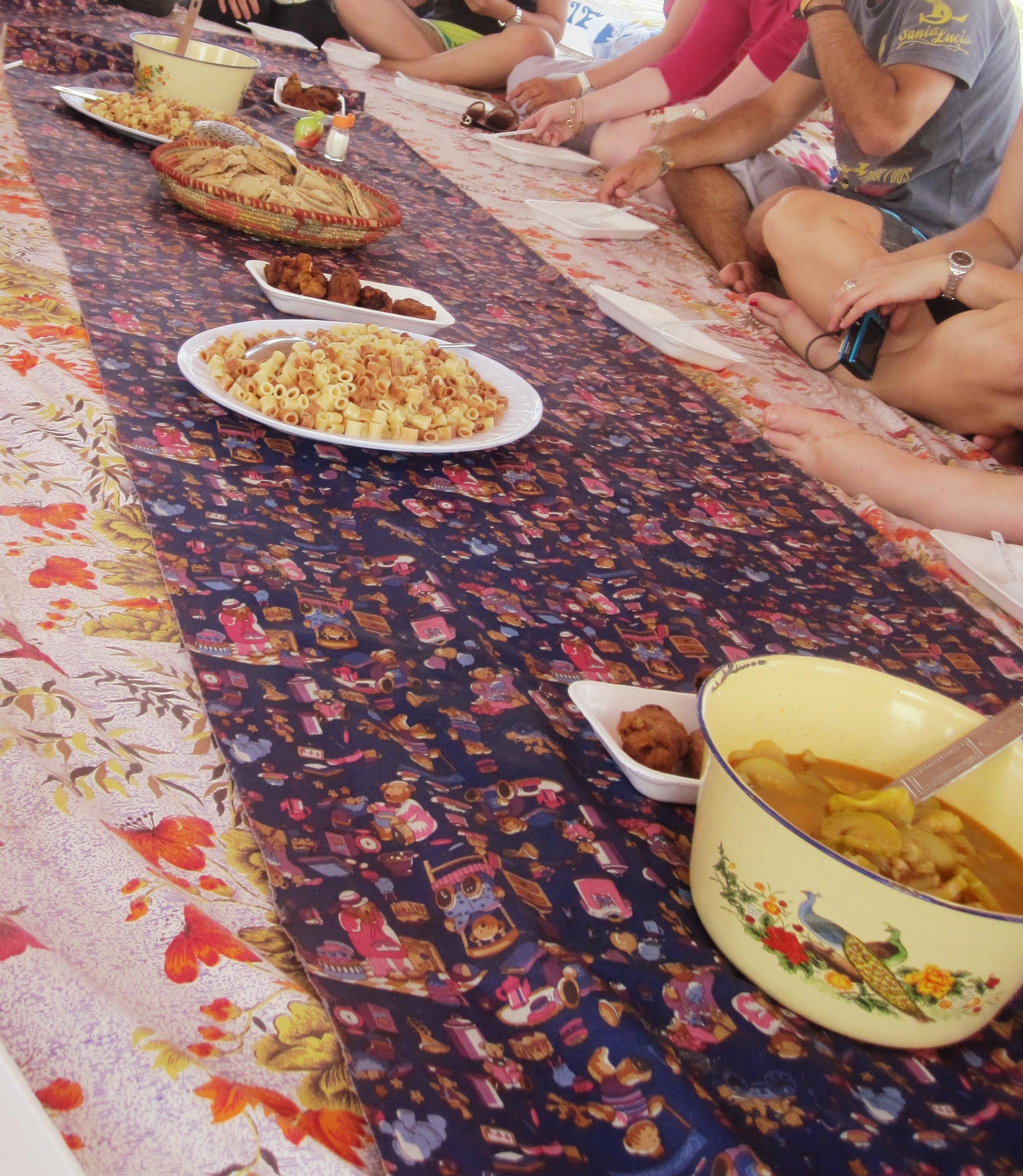 Nubian dinner on felucca