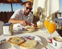 Los Barriles breakfast