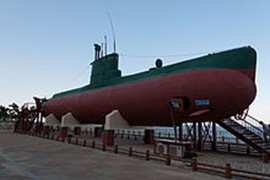 Le mini sous-marin espion à Jeongdongjin