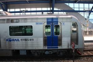 Le train en Corée du Sud