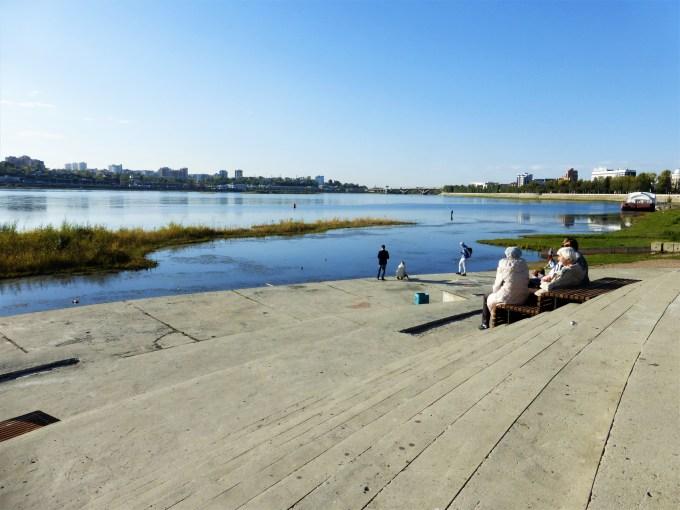 Le fleuve Angara à Irkutsk