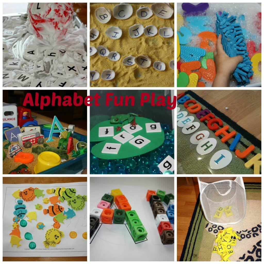 Alphabet Learning Through Play 10 Ways
