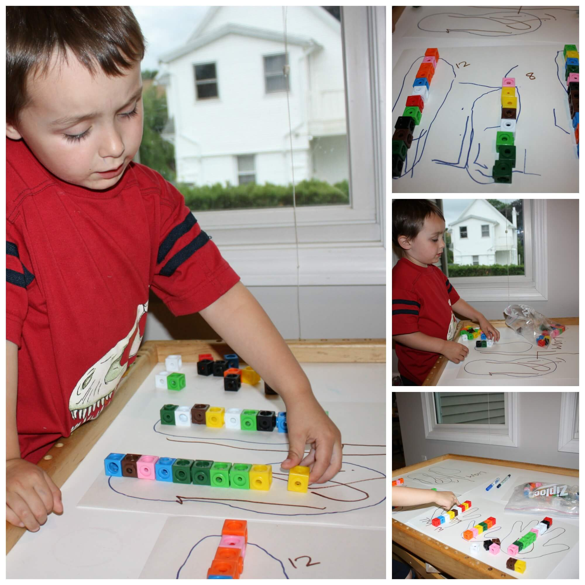 Preschool Math Measuring Activity Using Hands And Feet