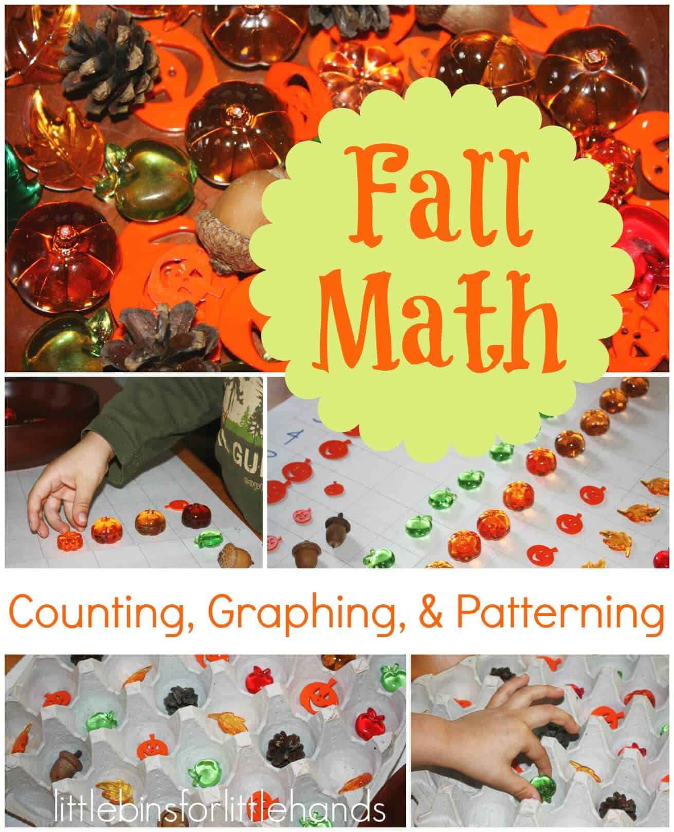 Simple Fall Early Learning Graphing Amp Patterning