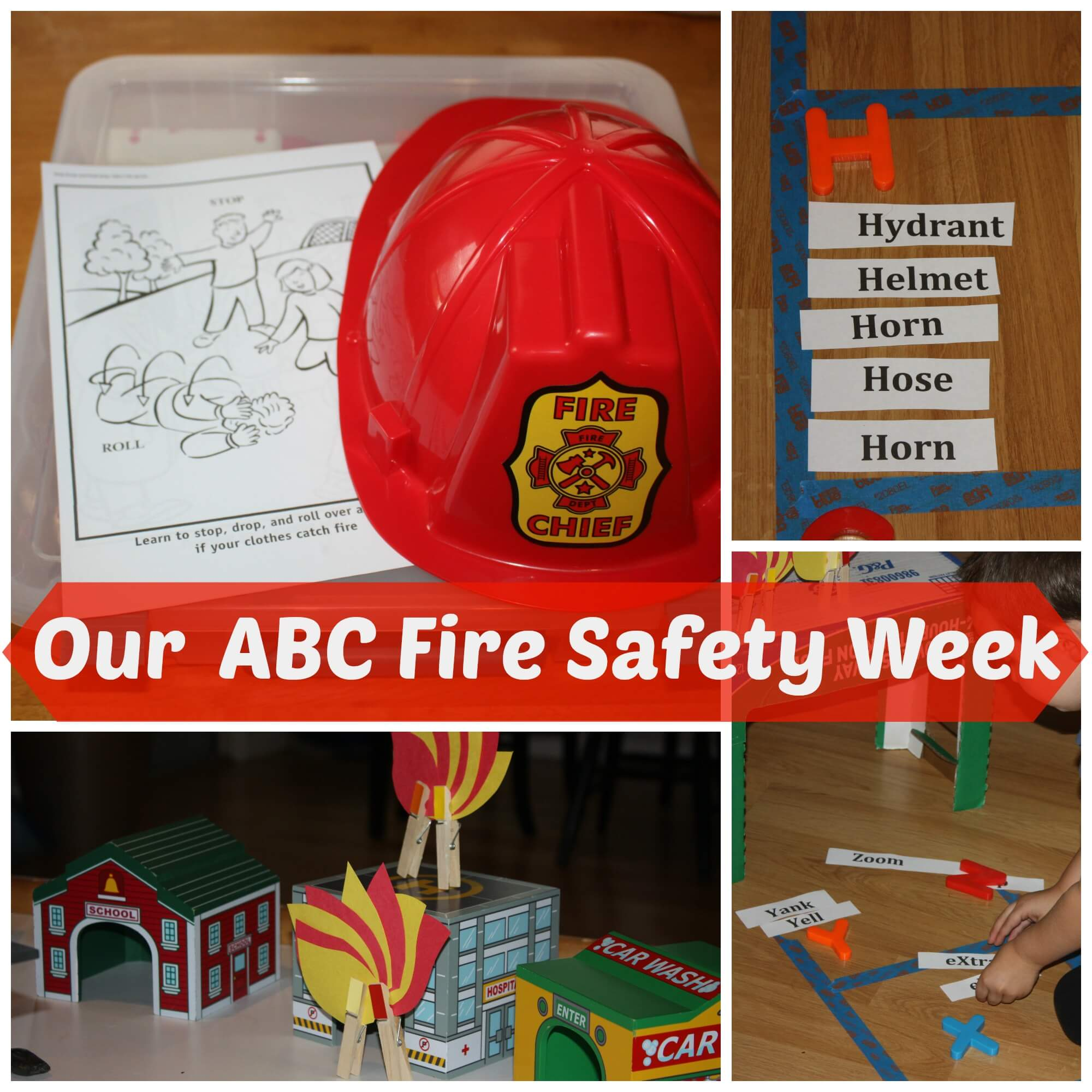Abcs Of Fire Safety Play Game Amp Activities Week