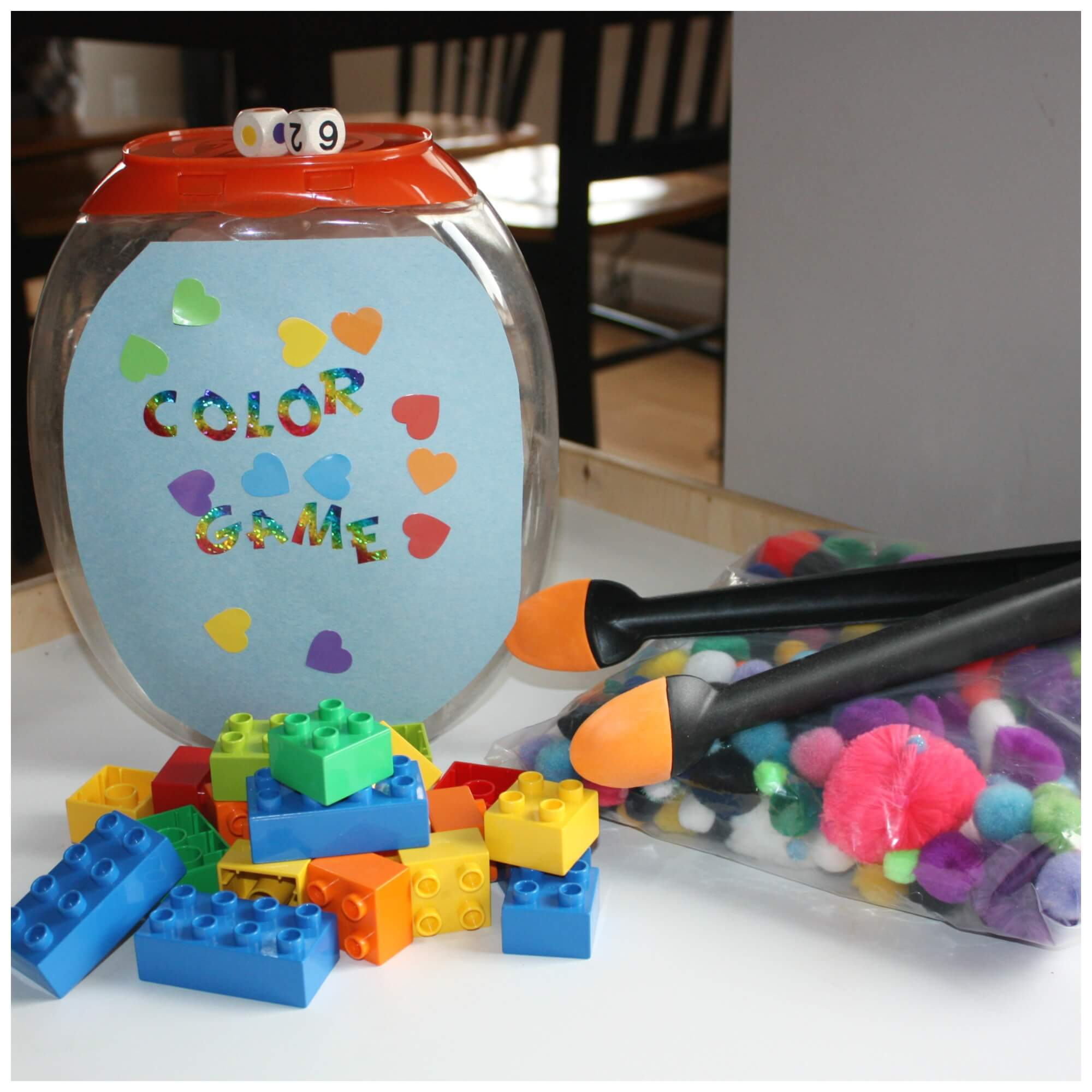 Fine Motor Skills Colors Game Guest Post