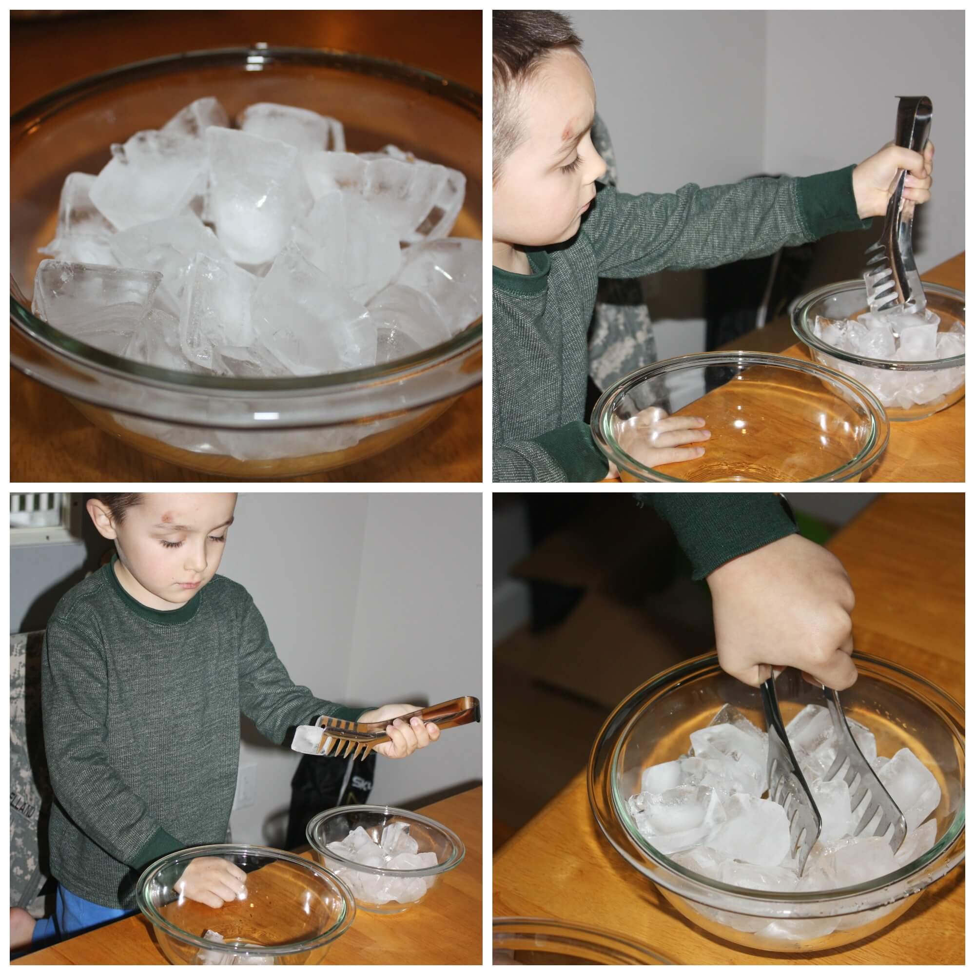 Solid Liquid Gas Experiment