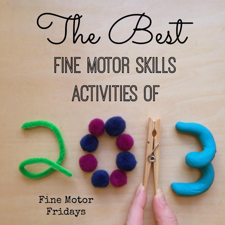 Preschool Christmas Fine Motor Activities
