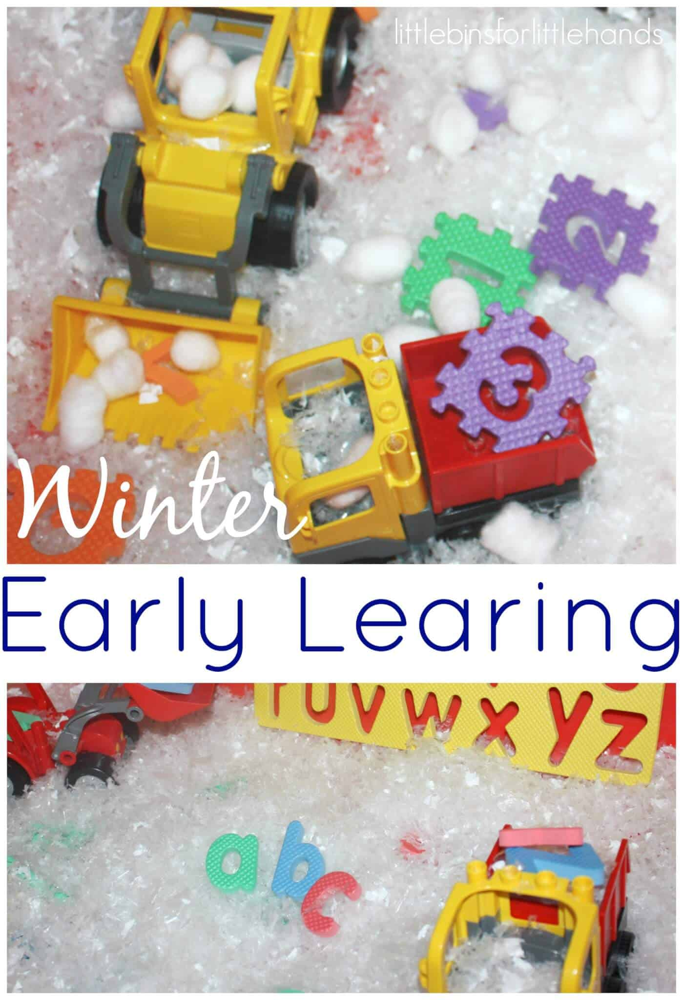 Early Learning Winter Preschool Activities
