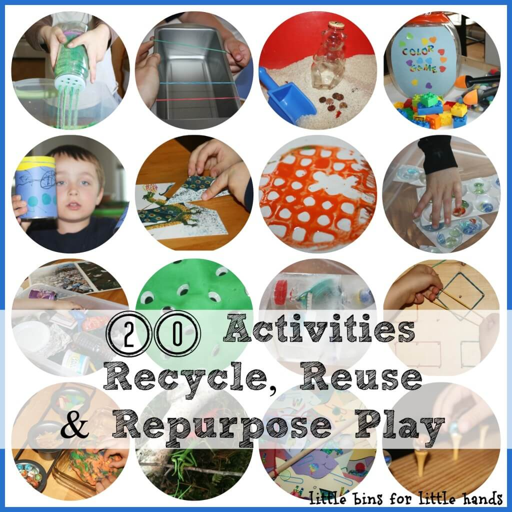 20 Repurposed Reused And Recycled Activities To Create