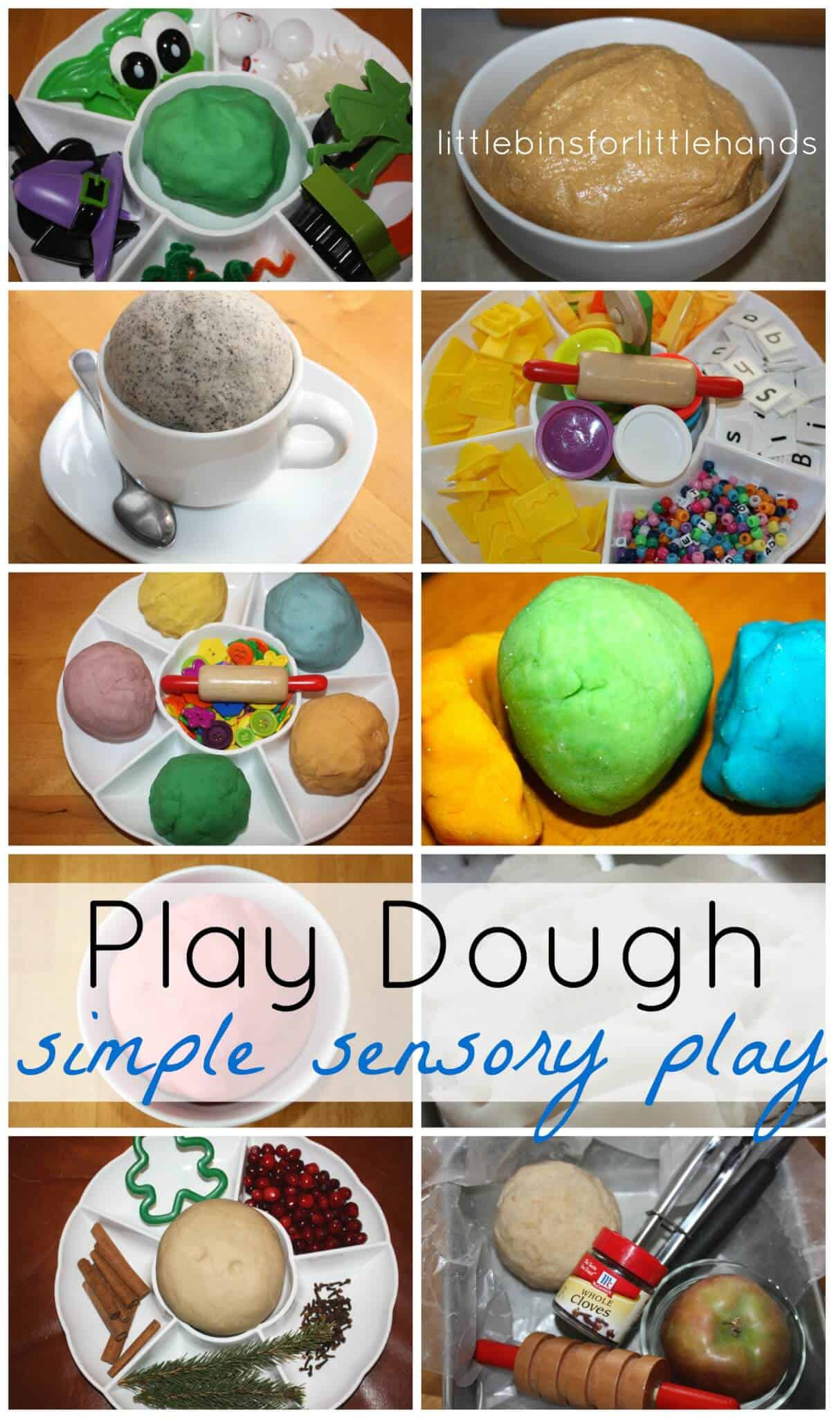 Play Dough Activities For Kids Early Learning Activities