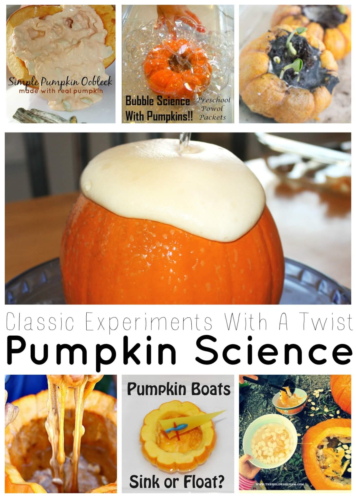 Pumpkin Science Experiments Classics With A Twist