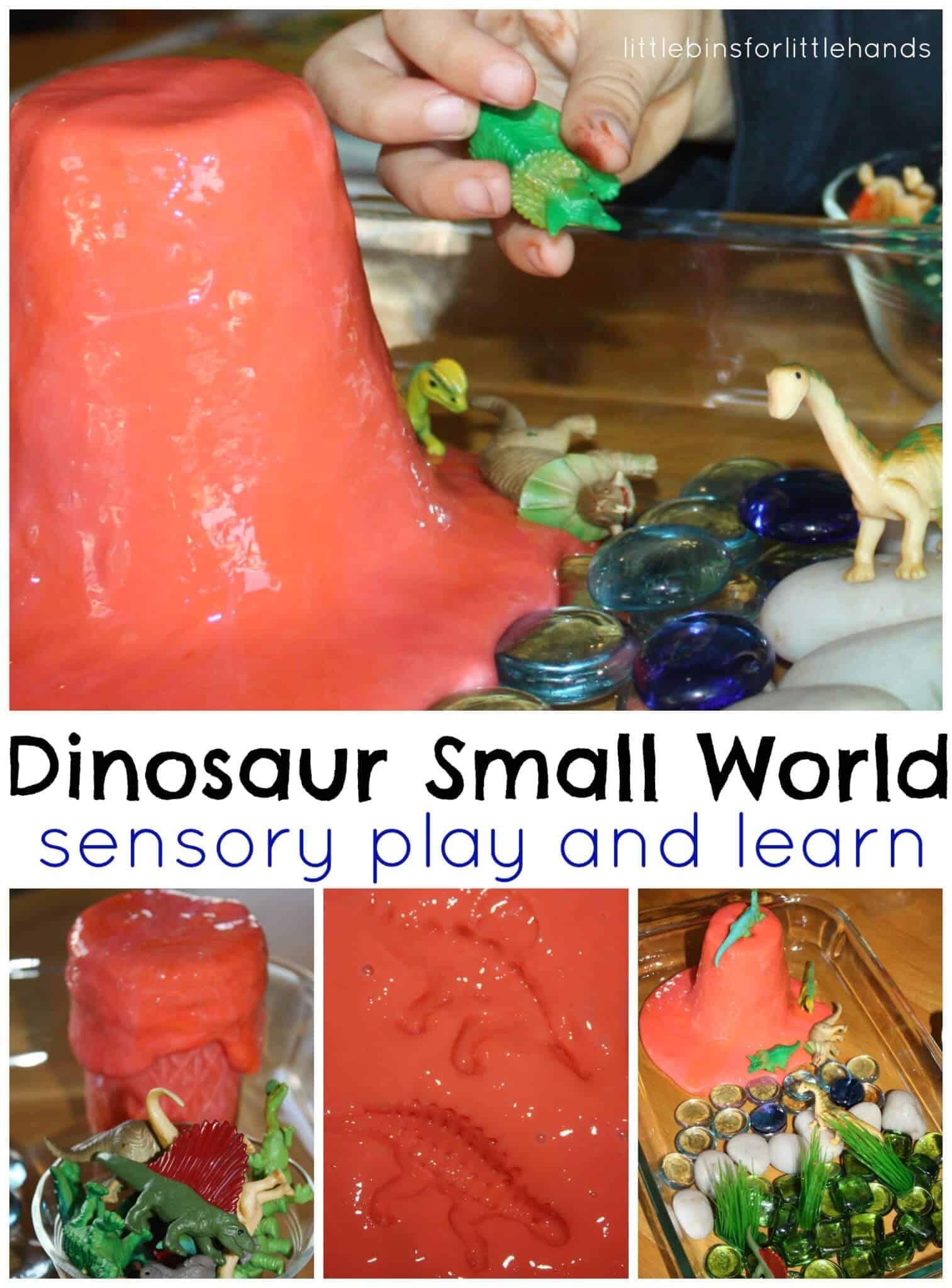Dinosaur Activity Sensory Play Small World