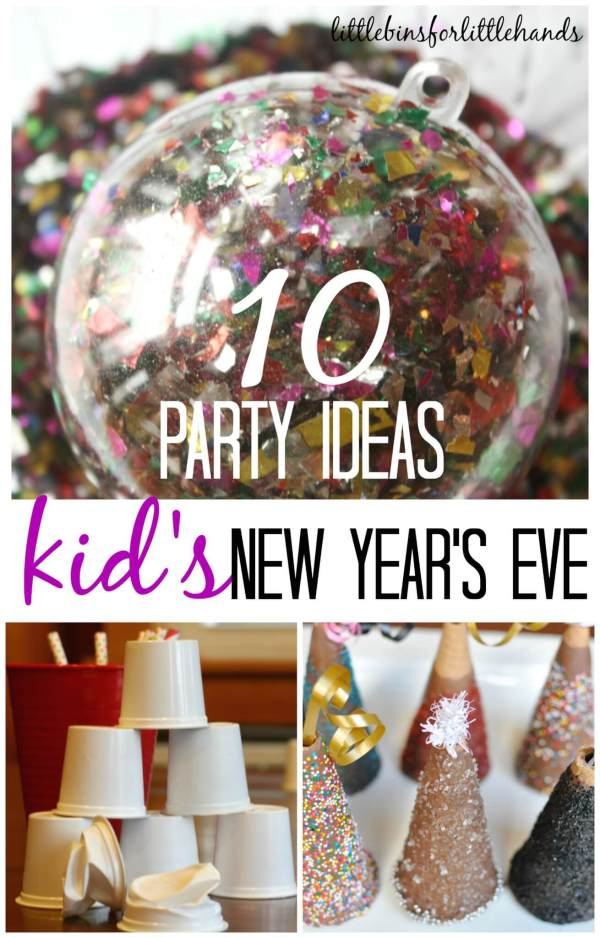 Kids New Years Eve Party Ideas and Activities for New Years