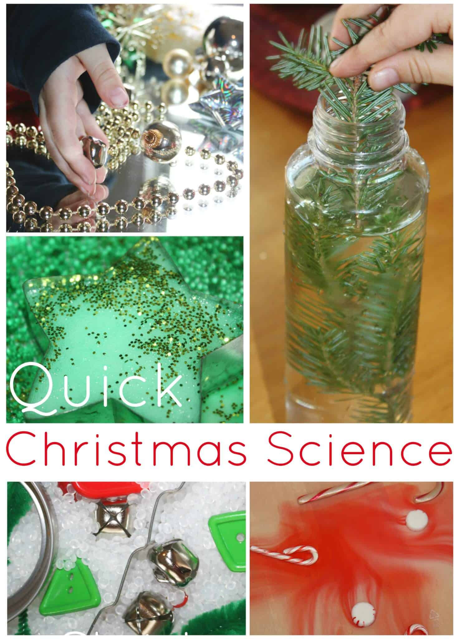 Science Christmas Activities For Kids Quick And Easy Experiments
