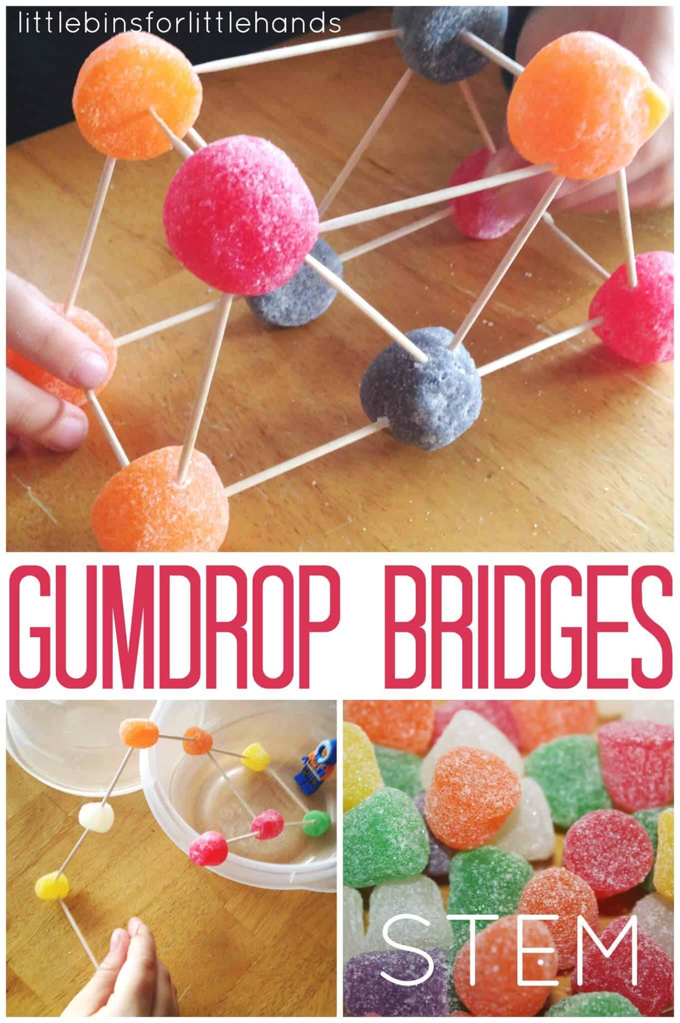 Gumdrop Bridge Stem Challenge