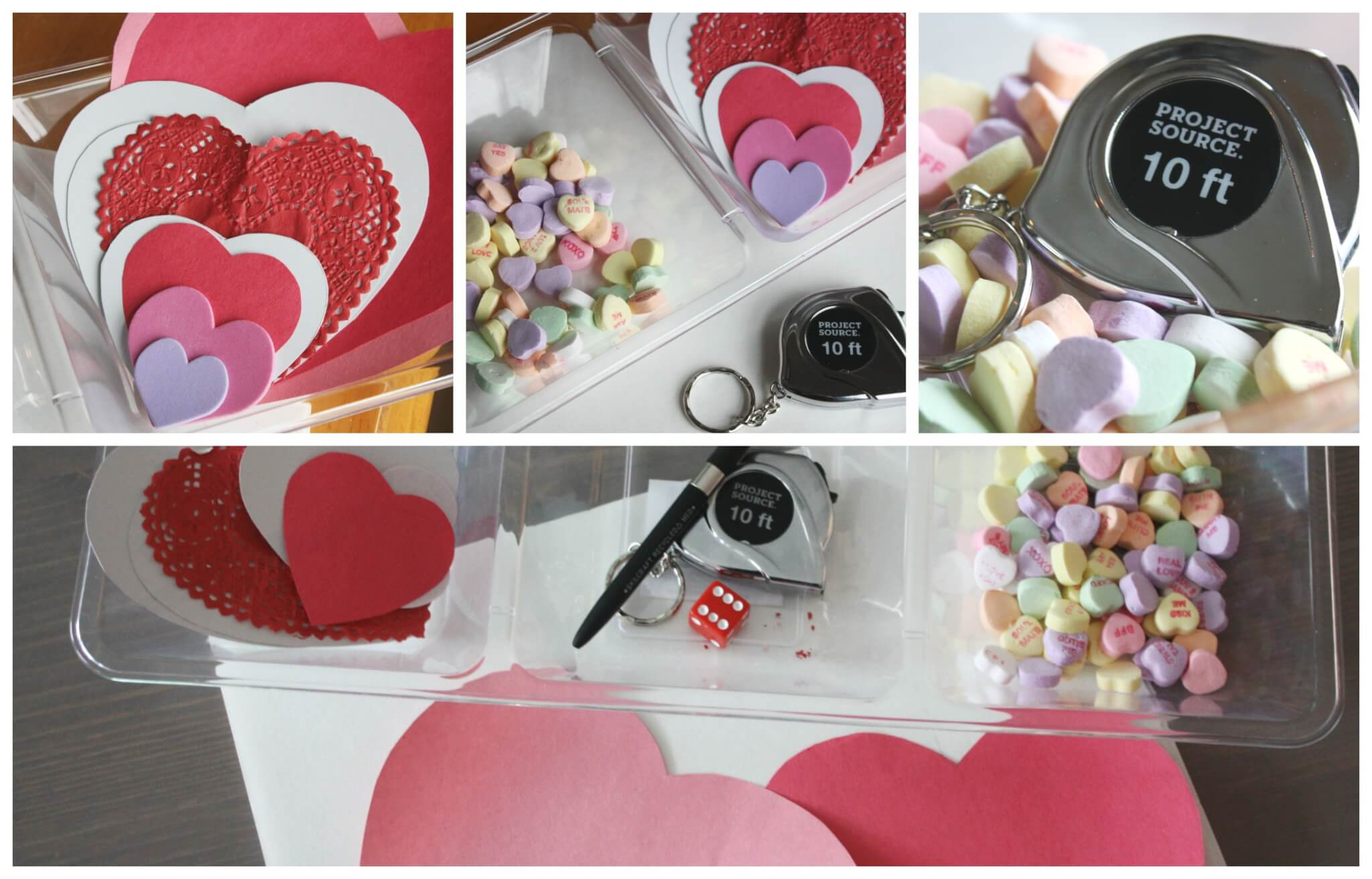 Candy Heart Measuring Math Activity For Kids
