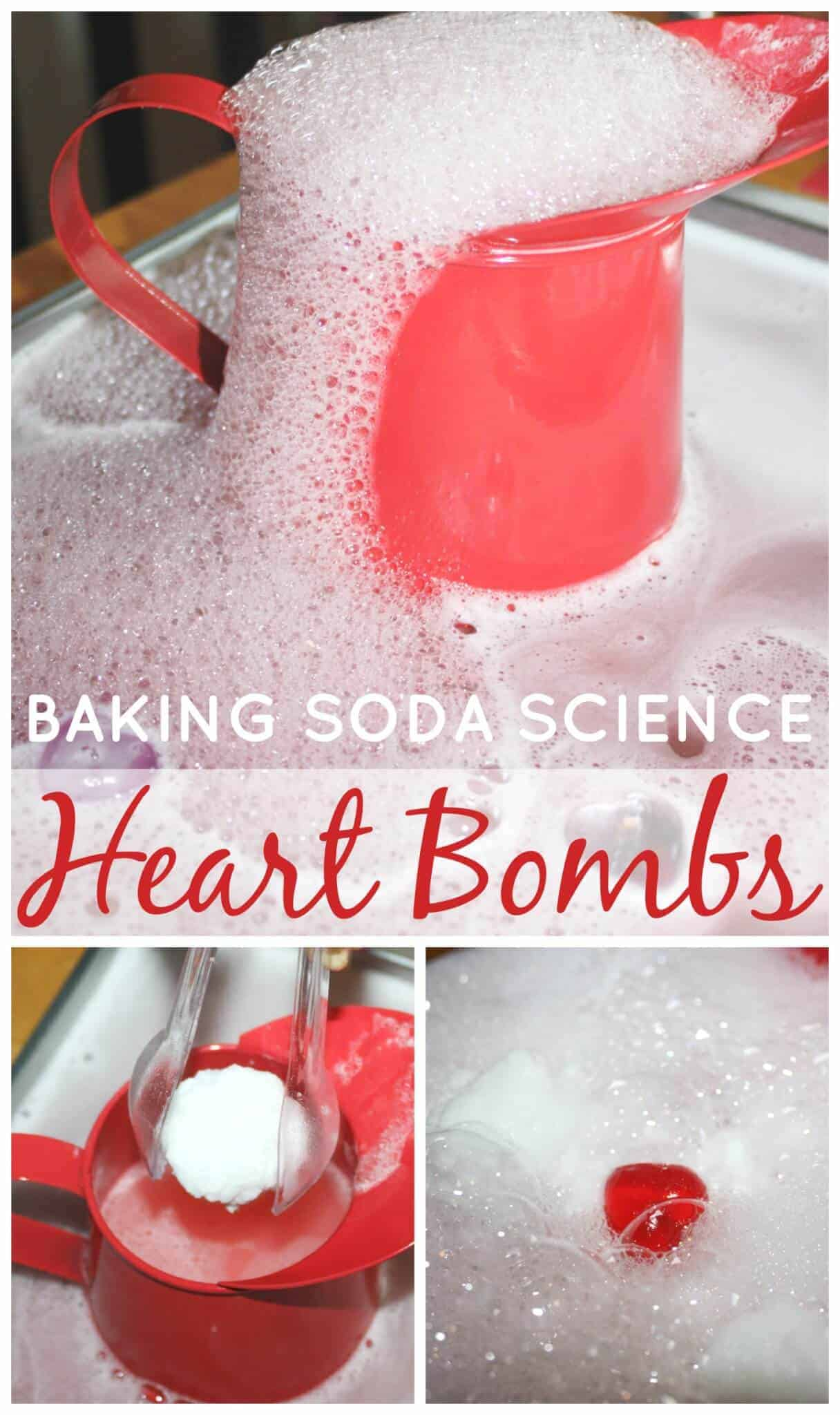 Hearts Baking Soda Science Valentines Activity