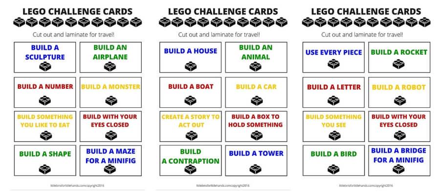 Kids LEGO Activities LEGO Learning Ideas Little Bins