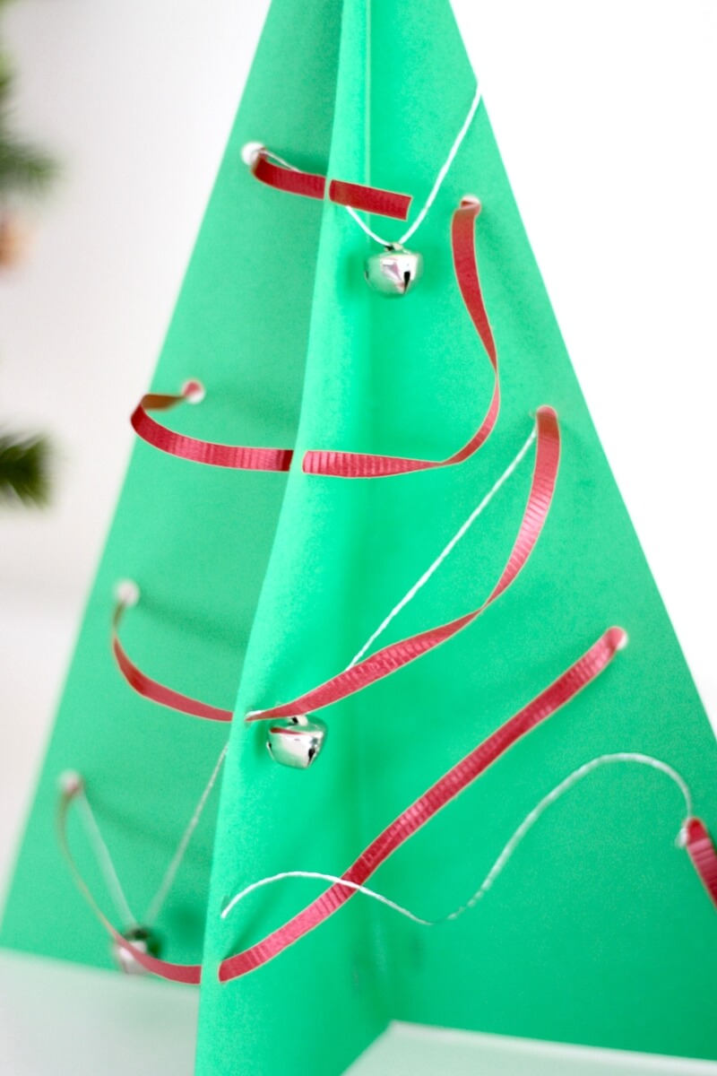 3D Christmas Tree STEAM Craft And Decoration For Kids