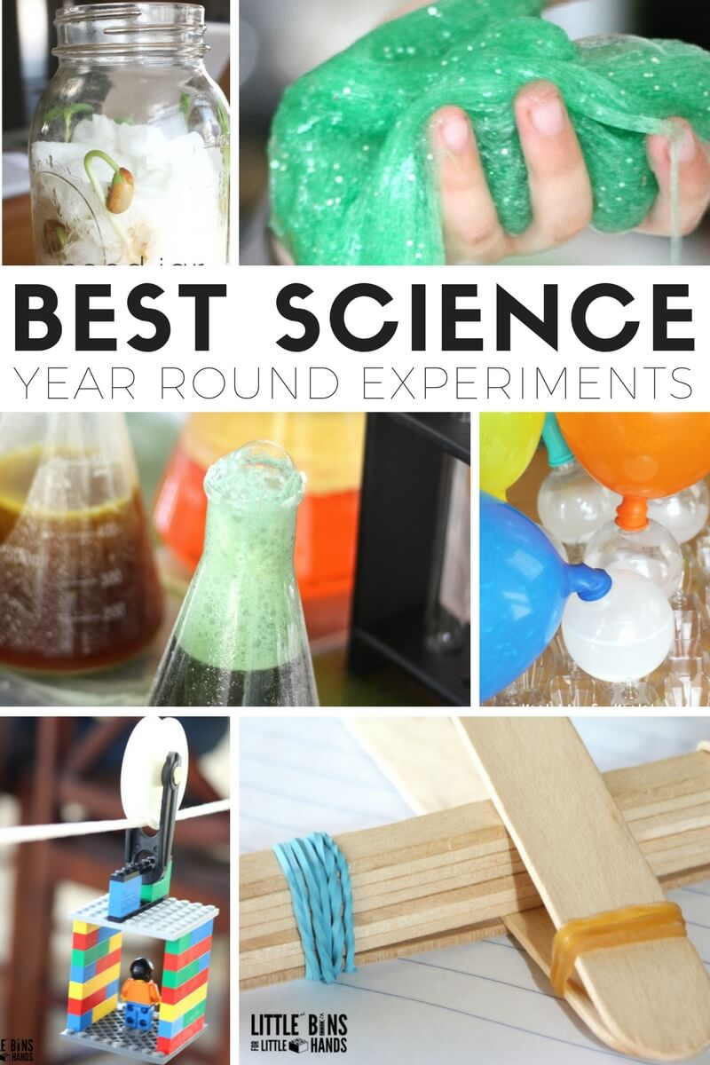 Best Science Experiments and Activities and STEM Projects