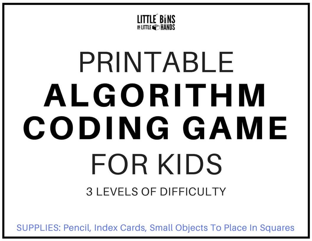 Algorithm Coding Game And Computer Coding For Kids Free