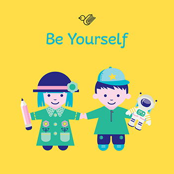 Be yourself book box