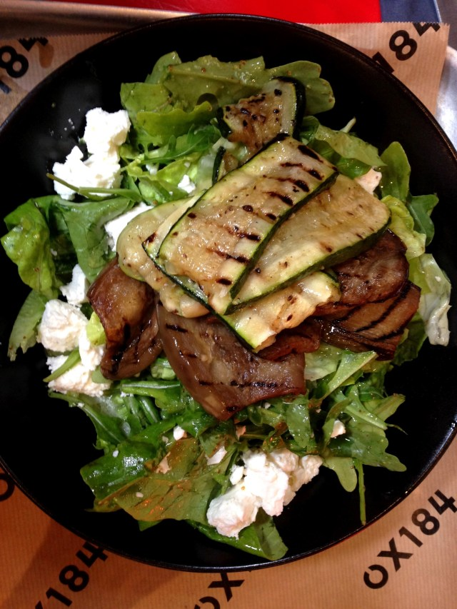 Courgette & Aubergine Feta Salad