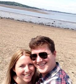 Cramond Island Selfie