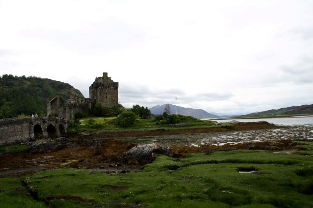Eilean Donan Castle from Right