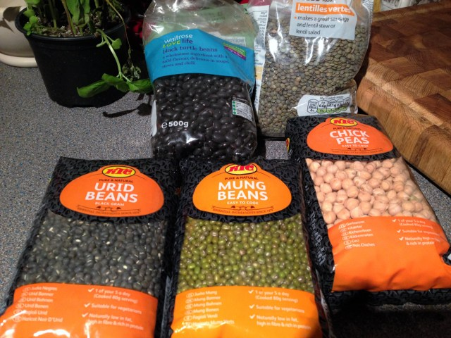Selection of dry pulses