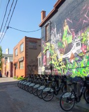 bikes on bikes on art on art
