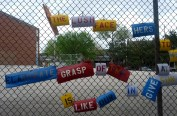 fence poetry